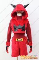 Pokemon Team Magma Grunt Ruby Cosplay Costume hoodie plush female