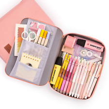 Pencil Pouch for Boys Girls Pyfk Case School Office Supplies Easy Access with Bi