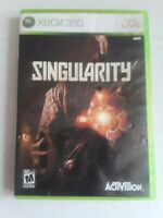 Singularity - Microsoft Xbox 360 Game With Case Tested Working