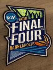 2019 Mens Final Four Official NCAA Patch March Madness Basketball Minnesota NEW!