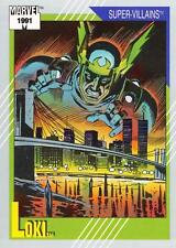 LOKI / Marvel Universe Series 2 (Impel 1991) BASE Trading Card #89