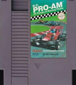 R.C. PRO-AM (1988) nes nintendo entertainment system rare rc us NTSC USA IMPORT