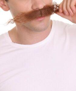 Sonic The Hedgehog | Men's  Doctor Eggman Robotnik Long Curly Mustache M-1146