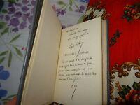 Paul Valéry - Morceaux Choisis - Avec Bel Envoi à Varennes - EO relié 1930