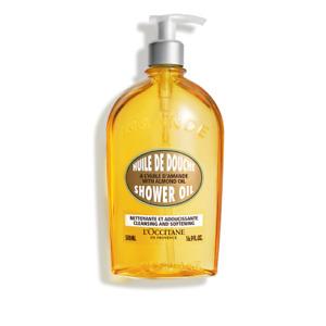 L'Occitane Amande ALMOND Shower Oil Body Wash / Cleanser Large 500 ml