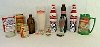 Budweiser Vintage Beer Collectibles Collection - Cans, Bottles, Cups, telephone