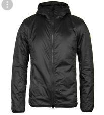 B 294# Barbour International Black Draft Quilt Jacket Size XL