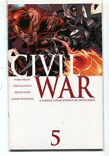 Civil War #5  NM  Millar McNiven Vines Hollowell Marvel Comics  CBX1F