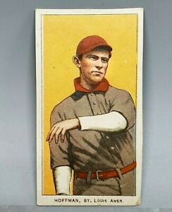 1909-11 T206 DANNY HOFFMAN Piedmont Cigarette Tobacco Card -SHARP! VG/EX