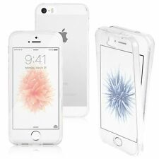 New Shockproof 360 Silicone Full Protective Clear Case Cover For iPhone 5s 6s 7