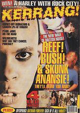 Skunk Anansie on Kerrang Cover 1995   Courtney Love   Slash   Scott Ian