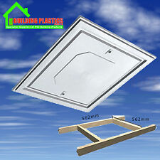 Manthorpe White Loft Hatch Trap Door Push Up Insulated Loft Hatch GL260