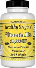 Vitamin D3 by Healthy Origins, 360 softgels 10000 IU