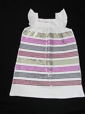 JOHN LEWIS pink cream stretch SPARKLY SEQUIN DRESS party SLEEVELESS AGE 3y & 4y