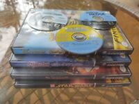 Lot Of 7 GameCube Games. Shrek Scooby-Doo Incredibles Star Wars Over The Hedge