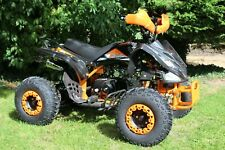 Quad Bike By KXD 004 Black Pro 125CC  4 Stroke With Fully Automatic Gearbox