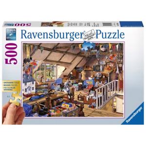 Ravensburger 13709-1 Grandmas Attic Puzzle 500pc Brand New