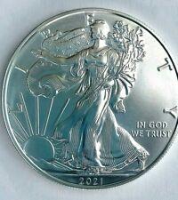 Type I 2021 1 oz. American Silver Eagle $1 Coin .999 Silver BU