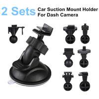 2x Suction Mount Holder Bracket w/ 7 Joints Kit For Car Camera A119Pro G1W Gitup