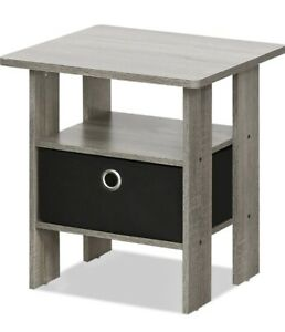 2 in 1 end tables with boxes included