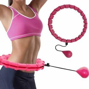 Sport Hoops Abdominal Thin Waist Exercise Detachable Massage Fitness Equipment