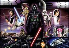 Komar Star Wars Fotomurali 8-482 Dars Vader Collage 368 x 254 cm Immagine Murale