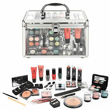 Professional Vanity Case Cosmetic Make Up Beauty Box Gift Set Makeup Kit 36 Pc