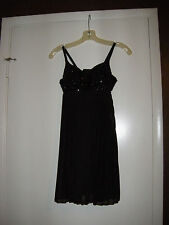 Little Black Dress with Beaded Top