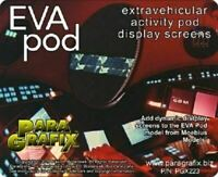 Paragrafix PGX223 - EVA Pod Display Screens - FOR KIT: Moebius 2001-4