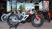 Fat Tire MTB eBike Cruiser Bike 750W MOTO PARILLA CARBON -