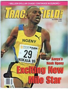 1999 Track and Field News Mile Star Noah Ngeny Golden League Series Prefontaine