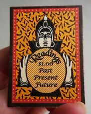 DOLLHOUSE MINIATURE ~ HALLOWEEN ~ STANDING PSYCHIC READING BOARD