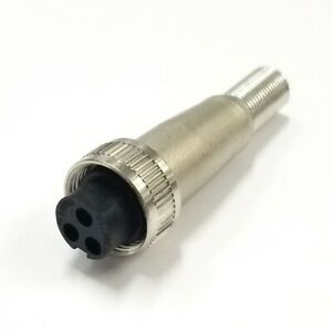 Switchcraft SL403F 3 Pin Female Slim Line Series Connector with Coupler Ring