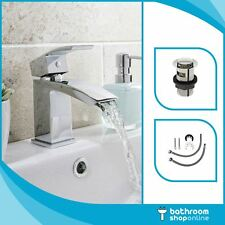 Decent Mini Basin Mono Mixer Tap - Chrome Modern Design & Free Basin Waste