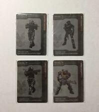 Halo Reach Promo Collectible Noble Team Metal Cards - Carter Kat Emile Jorge
