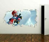 Mario Kart Race Track Ice Custom Wall Decals 3D Wall Stickers Art GS202
