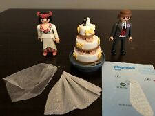Playmobil 4299 Bridal Couple (Bride and Groom) with Wedding Cake