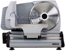 Nesco Food Slicer 180-Watt Stainless Steel Blade Precision Depth Control 1-Speed