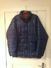 vtg Berghaus pole jacket blue quilted warm size large xl 80s casuals mod