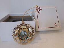 Danbury Mint 2005 White House Ornament Gold Boxed