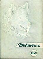 RITENOUR HIGH SCHOOL, OVERLAND, MISSOURI YEARBOOK - MELAUREUS - 1953