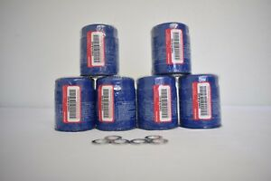 GENUINE HONDA ACURA FACTORY ENGINE OIL FILTER & WASHER 15400-PLM-A02 SET OF 6