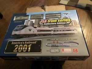RARE Sealed Amtrak P42 #155 & Passenger Cars USA Train Series Collectors Edition