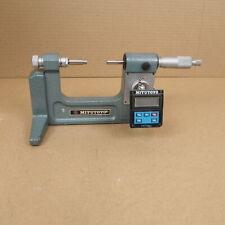 Mitutoyo 121-130 Digimatic Bench Micrometer Caliper w Batteries