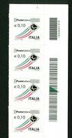 ITALIA Repubblica Serie Ordinaria adesivi Francobolli  MNH ** CODICI A BARRE