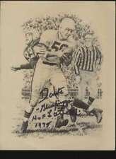 Magazine picture  Dante Gluefingers Lavelli HOF 1975 Autographed Authentic 47200