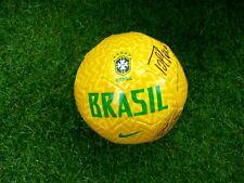 Mini Ballon BRASIL Nike signed CLAUDIO TAFFAREL ROBERTO CARLOS ultras football