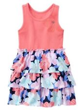 NWT Gymboree Girls TROPICAL BREEZE Tiered Gem Flower Knit Dress NEW Size 7