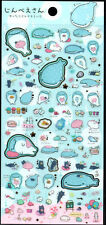Sanx San-x Royal Jinbesan Whale Sticker Sheet stickers kawaii Japan Sea Life