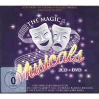 MAGIC OF THE MUSICALS 2 CD + DVD NEW!